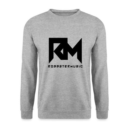 RobbsterMusic / Black-Logo - Männer Pullover