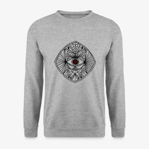 BEGONE EYE MANDALA - Sweat-shirt Unisexe