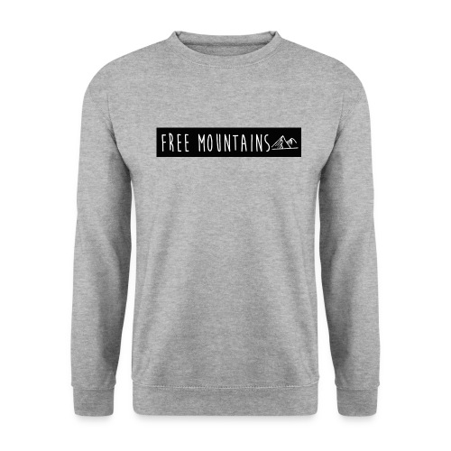 freemountains noir png - Sweat-shirt Unisexe