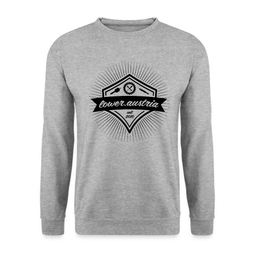LowA Logo black 48pd png - Unisex Pullover