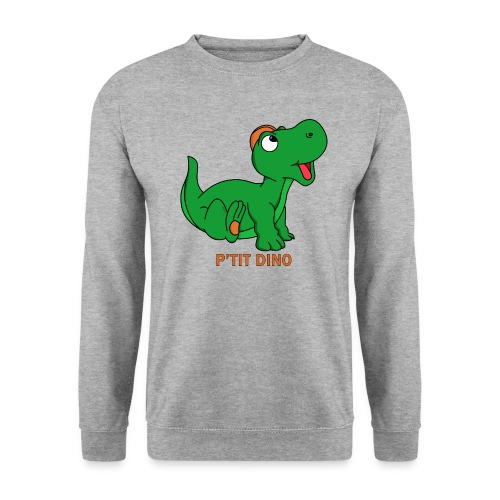 P'tit Dino Vert - Sweat-shirt Homme