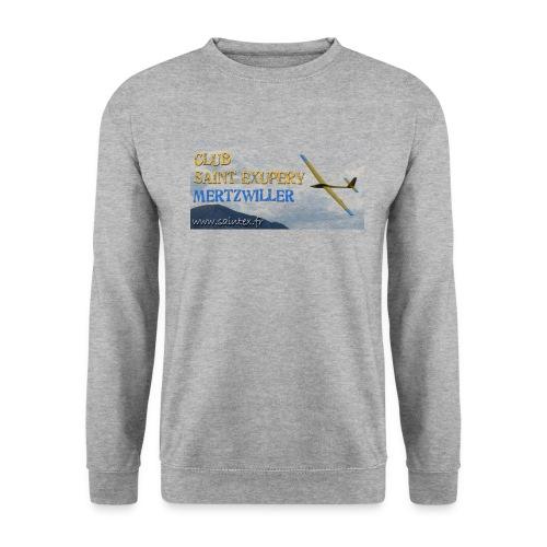 t shirt 2 transp - Sweat-shirt Unisexe