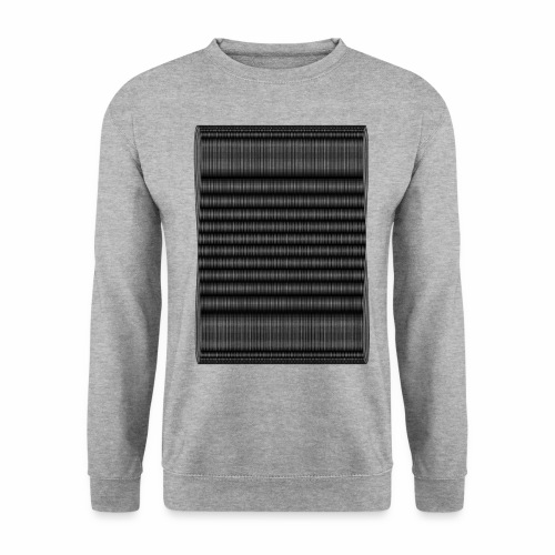 Moire III [Noir] - Sweat-shirt Unisex
