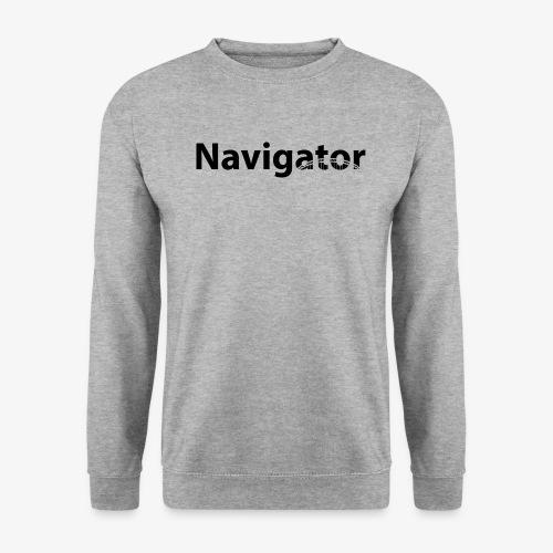 Navigator zwart merch - Unisex sweater