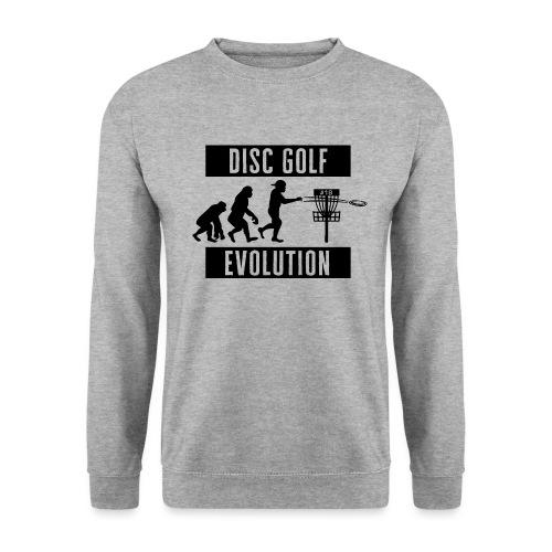 Disc golf - Evolution - Black - Unisex svetaripaita
