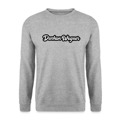 Dushan Wegner (Schriftzug) - Männer Pullover