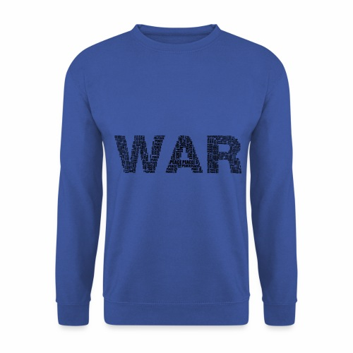 Napis stylizowany War and Peace - Bluza męska