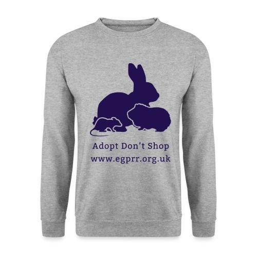 Adopt Don t Shop Dark - Unisex Sweatshirt