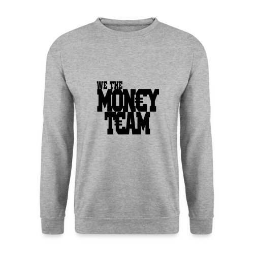 we the money team1 png - Mannen sweater