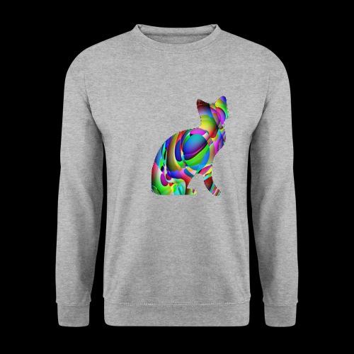 chat joueur - Sweat-shirt Homme