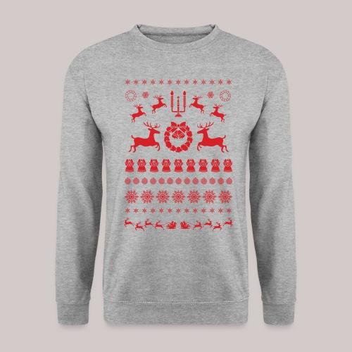 Rode kerstmis - Mannen sweater