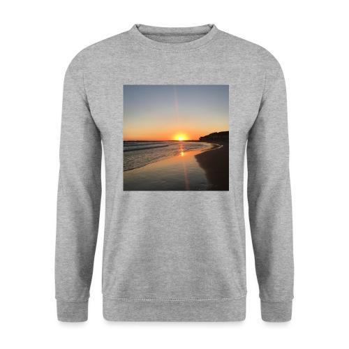 coucher de soleil - Sweat-shirt Homme