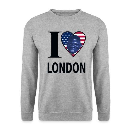 I LOVE LONDON gif - Männer Pullover