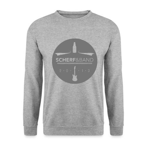 Scherf Sticker Logo rund png - Männer Pullover
