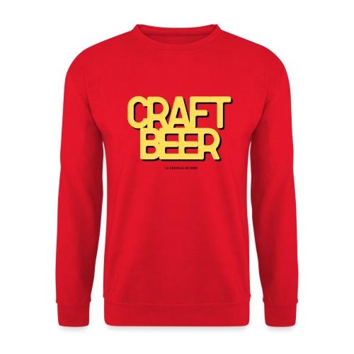 craft beer - Sudadera unisex