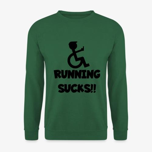 Rolstoel gebruikers haten rennen - Unisex sweater