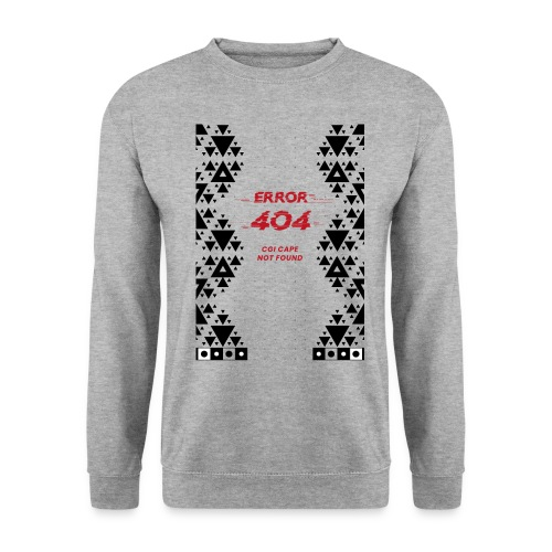 Error404-CGI Cape Not Found - Unisex Pullover