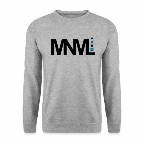MNML Schrift Symbole Logo minimalistisch Text Icon - Unisex Pullover