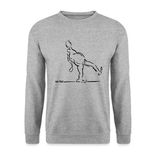 Lean Back Doodle - Men's Sweatshirt