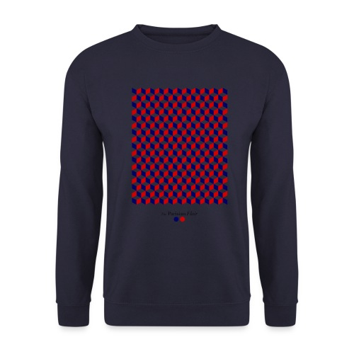 graphic cube - Sweat-shirt Unisexe