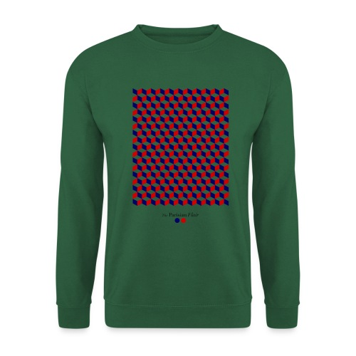graphic cube - Sweat-shirt Unisexe