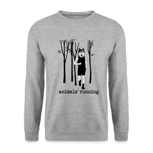 Loup running - Sweat-shirt Homme