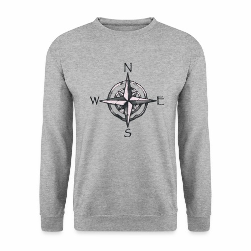 point cardinaux png - Sweat-shirt Homme