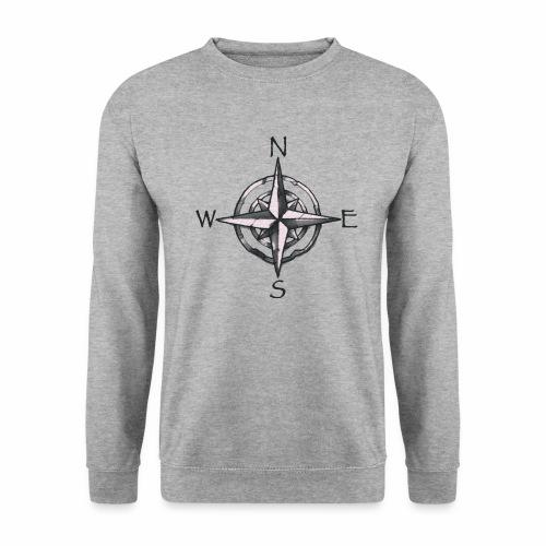 point cardinaux png - Sweat-shirt Unisexe