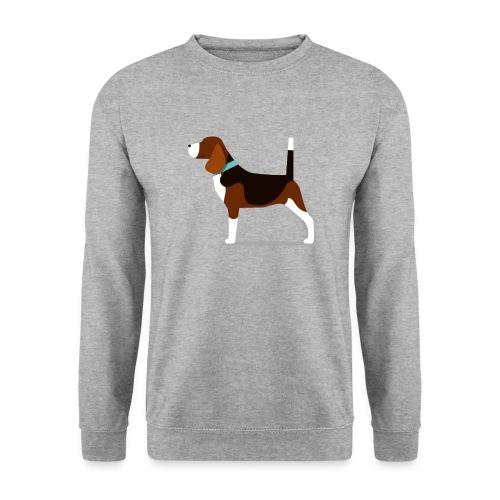 beagle 01 png - Männer Pullover