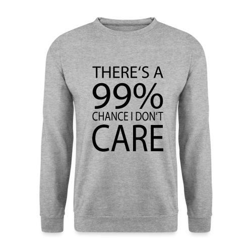 Ist mir egal lustiges Design Sarkasmus - Männer Pullover