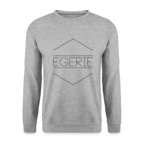 EGERIE NOIR - Sweat-shirt Unisexe