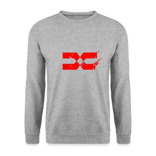 Logo PNG Red Sans TXT png - Sweat-shirt Homme