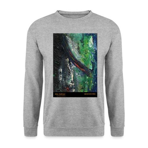 aliens-shirt-with-text - Men's Sweatshirt