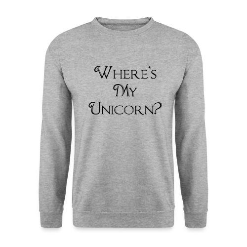 Where's My Unicorn - Men's Sweatshirt