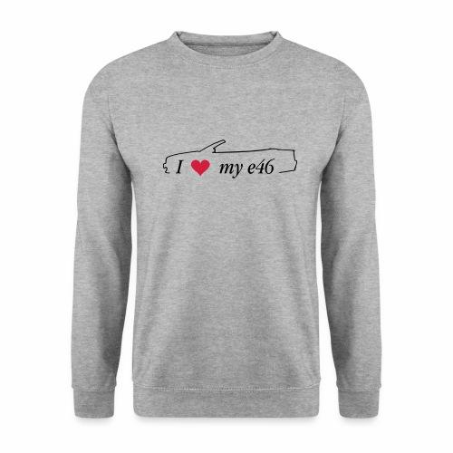 I Love my e46 Cabrio - Männer Pullover