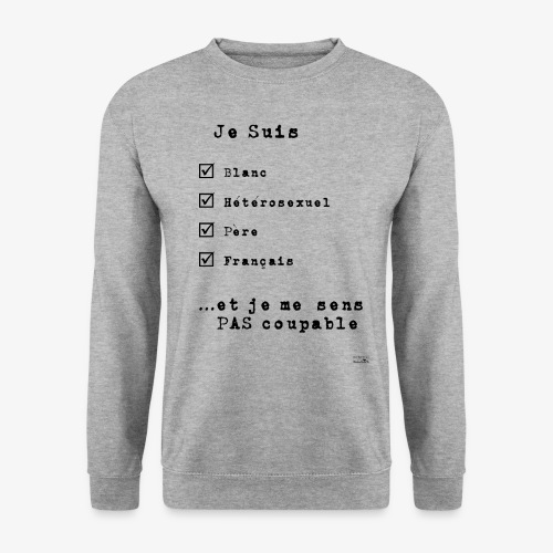 IDENTITAS Homme - Sweat-shirt Unisexe