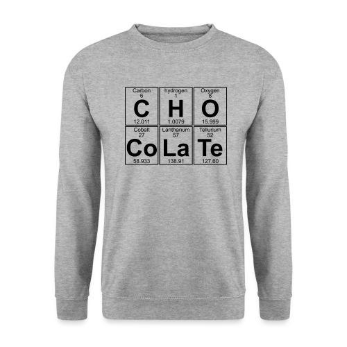 C-H-O-Co-La-Te (chocolate) - Full - Unisex Sweatshirt