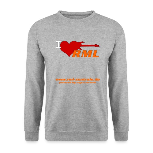 I love RML cup png - Unisex Pullover