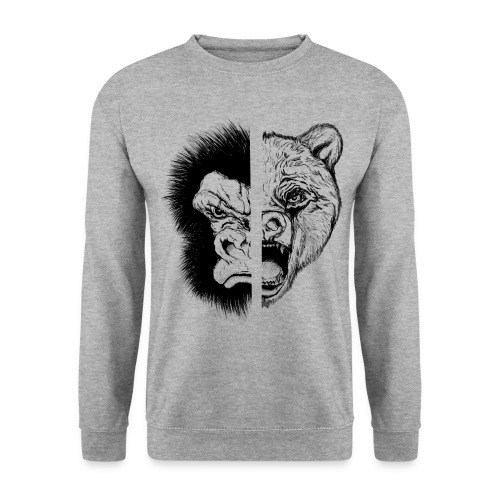 Gorilla Vs Bear - Men's Sweatshirt