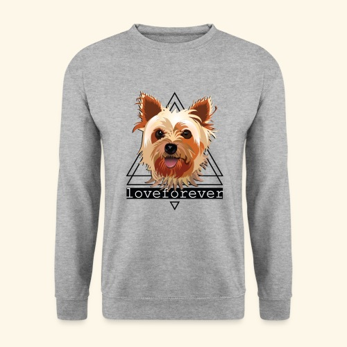 YORKIE LOVE FOREVER - Sudadera hombre