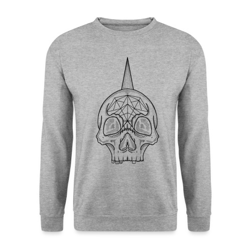 Skull head - Sweat-shirt Unisex