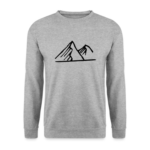 FREE Noir png - Sweat-shirt Homme