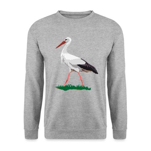 Weißstorch - Männer Pullover