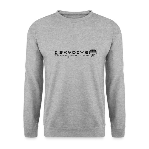 i_skydive_therefore_i_am - Men's Sweatshirt