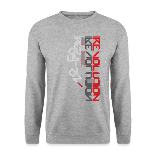 Revolution Type Composition - Men's Sweatshirt