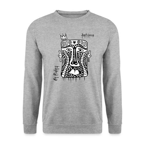 No Rules Just Love by BuBu Collection - Unisex Sweatshirt