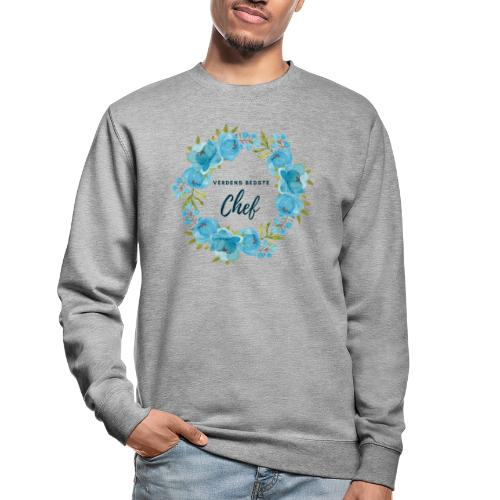 Verdens bedste chef - Unisex sweater