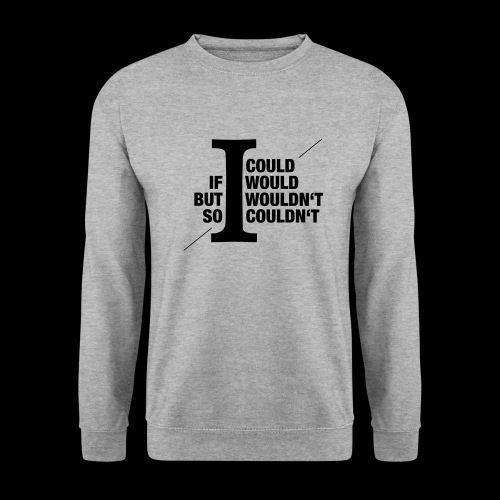 Would/Could - Männer Pullover