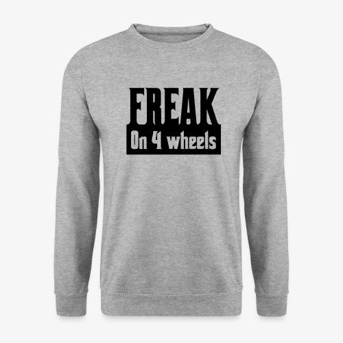 Gek op vier rolstoel wielen - Unisex sweater