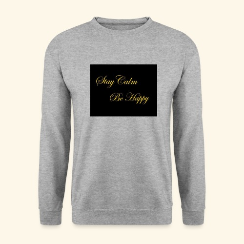 Be Happy - Sweat-shirt Homme